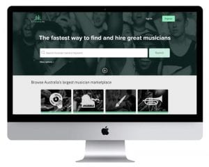Music News Website