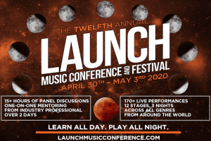Launch Music Conference Banner