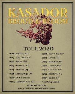 Poster for Tour Dates