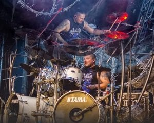 DIMMU BORGIR Drummer Daray Featured On Drummers From Hell's Drum Cam Compilation