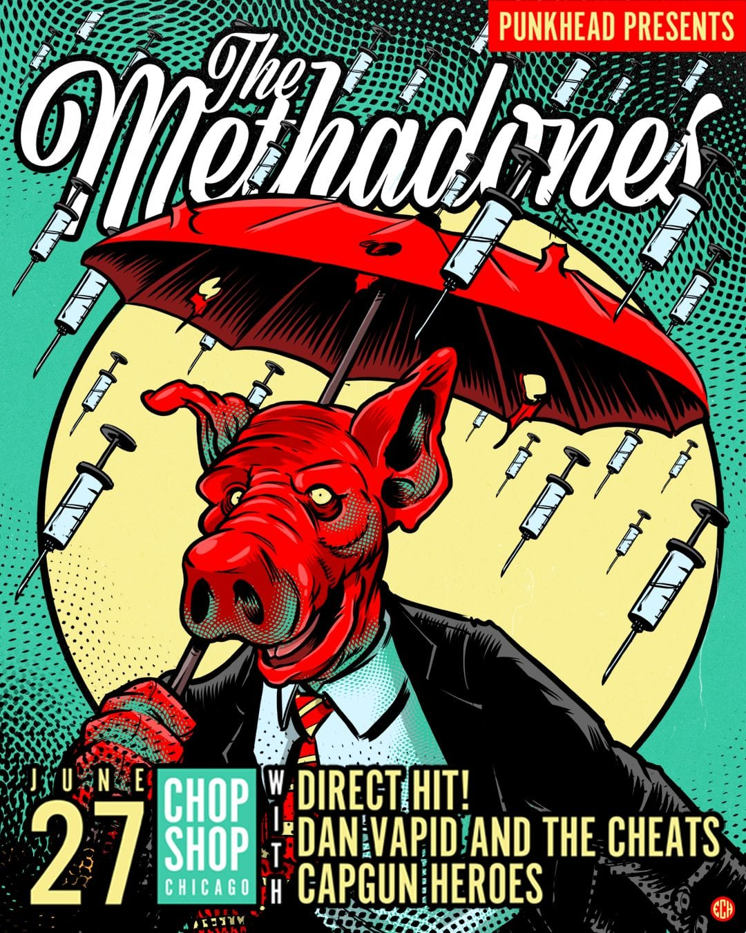 The Methadones Announce Upcoming European and US Tour