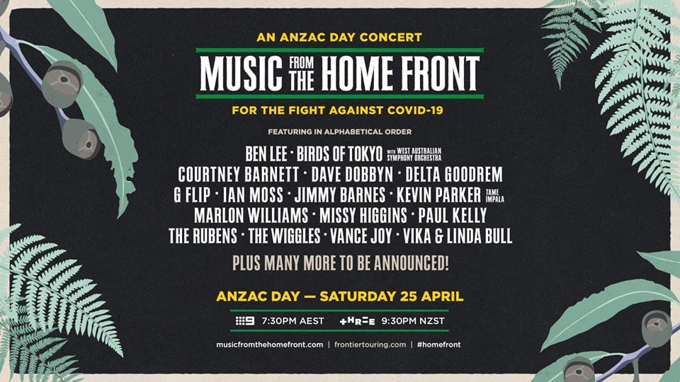 Aus + NZ to Celebrate Anzac Spirit with Major Concert Event this Saturday