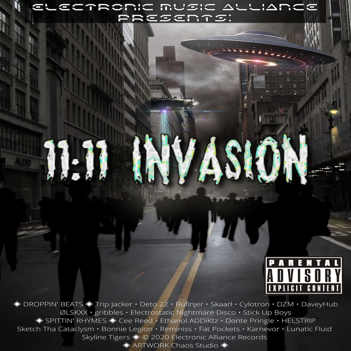 11:11 Invasion Album Serves Up a Serious Feast Of Styles and Sounds