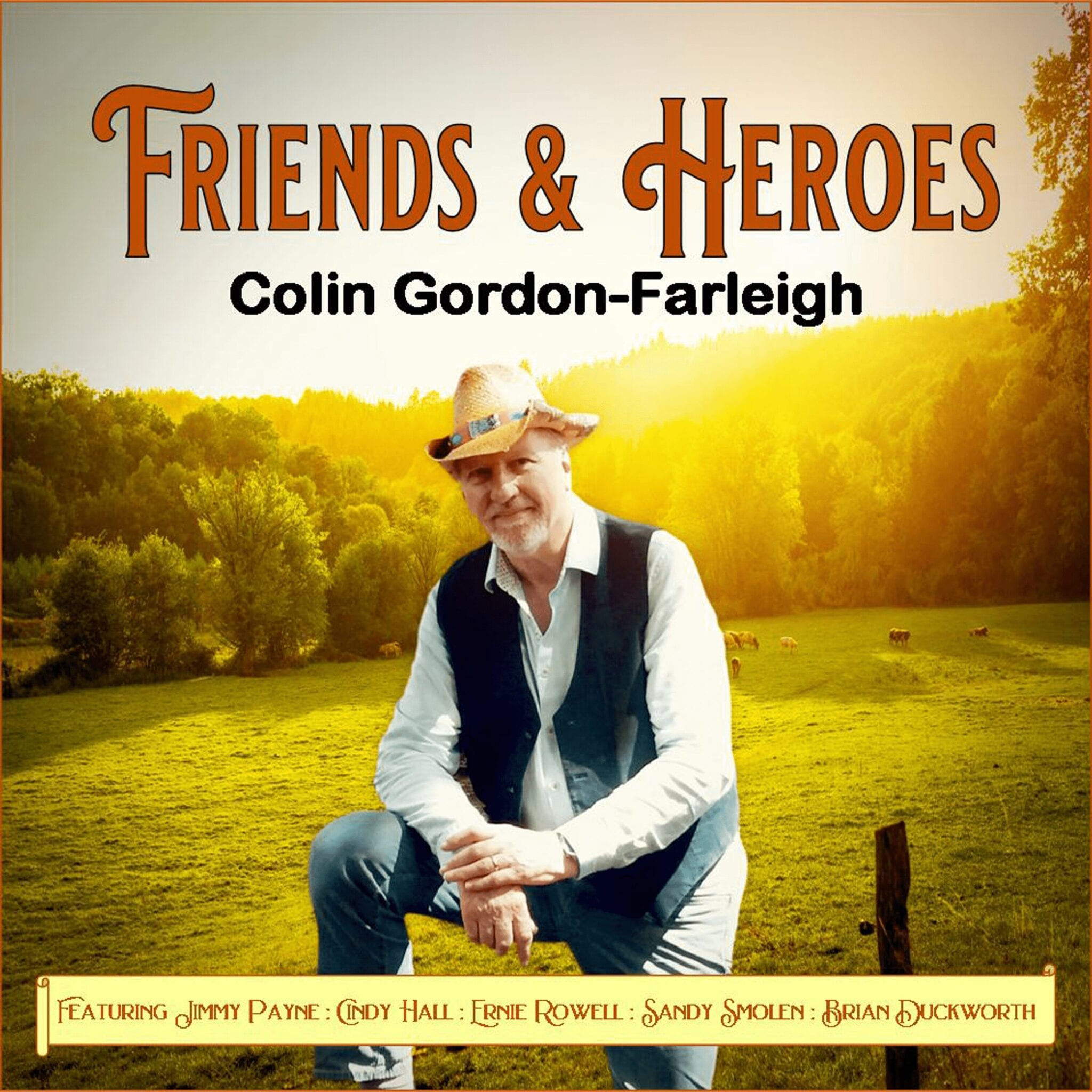 Relax with New Album of Sing-a-long Country Music from Colin Gordon-Farleigh